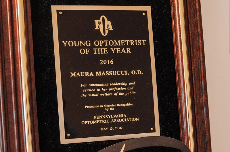 young optometrist of the year